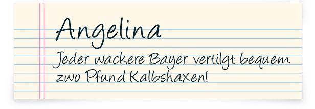 14 Handschrift-Fonts die du (hoffentlich) noch nicht kennst oder